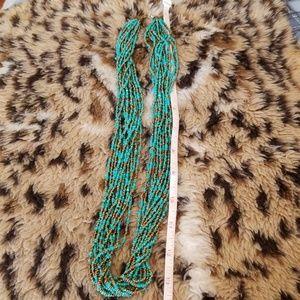 Jewelry - Beaded, multi strand necklace.